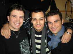 With Claudio Junior Bielli and Andrea Perroni