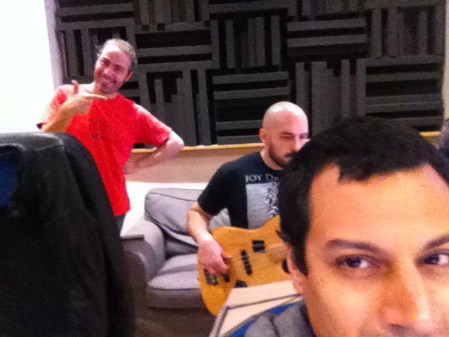 With Puccio Panettieri and Gabriele Lazzarotti