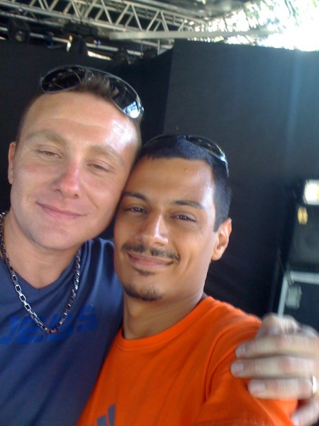 With Vincenzo _Red_ Meloccaro