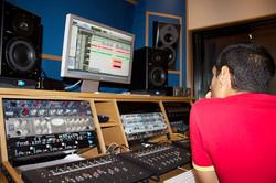Recording at Absolute Rec. Studio