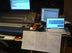 At FM Records Rec. Studio