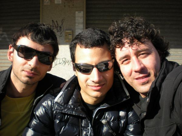 Me with Andrea Terzulli and Alessio Renzopaoli