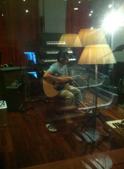 Recording at Forward Studios 3