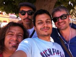 With Dedo, Massimo Pino and Salvo Silvio