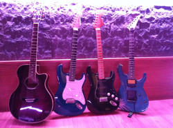 Some guitars