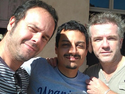 With Massimo Roccaforte and Steve Lyon