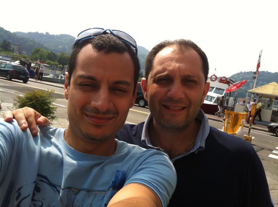 With Santi Scarcella