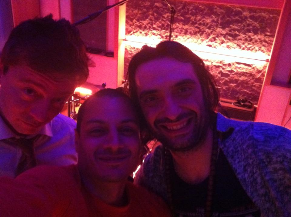 With Gianpaolo Eroli and Francesco Caprara