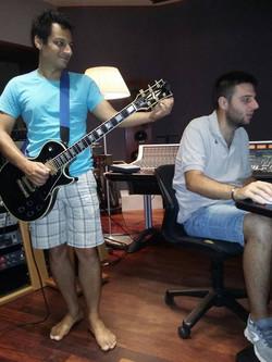 With Stefano Quarta At Forward Studios
