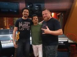 With Mario Guarini and Ivano Zanotti