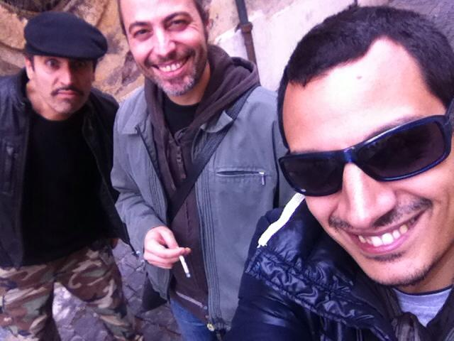With Dedo and Puccio Panettieri