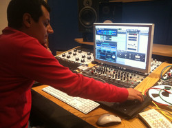 At Absolute Recording Studio 4
