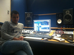 At Absolute Recording Studio 1