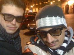 With Claudio Junior Bielli