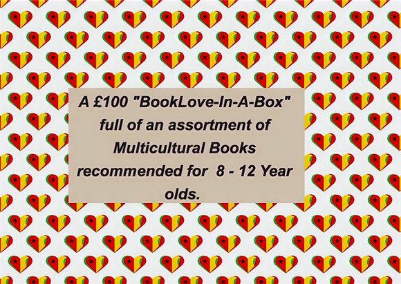 """£100  """"BookLove-In-A-Box"""" Age 8 - 12"""