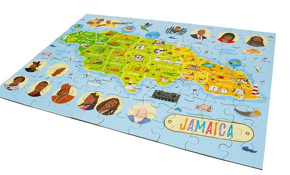 GIANT JAMAICA MAP PUZZLE