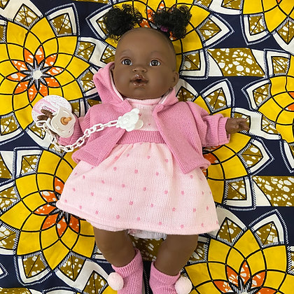 Colleen-Adjoa DOLL (Comes in Lovely Pink PresentationBox)