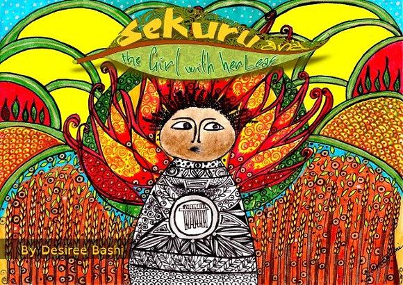 Sekuru and the Girl with her Leaf