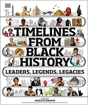 Timelines from Black History: Leaders, Legends, Legacies by Mireille Harper