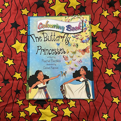 The Butterfly Princess Colouring Book