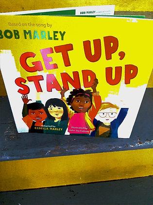 Get Up, Stand Up by Cedella Marley, Bob Marley, John Jay Cabuay (Illustrator)