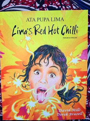 Yoruba&English Lima's Red Hot Chilli, Ata Pupa Lima by David Mills+Derek Brazil