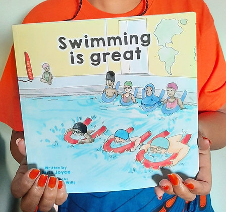 Swimming is Great by Miss Joyce,South London Professional Swim instructor 27+yrs