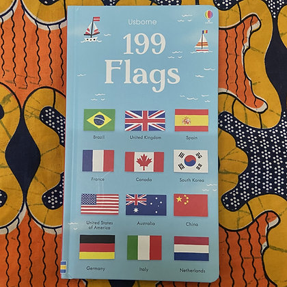 199 Flags - 199 Pictures (Board book) by Holly Bathie