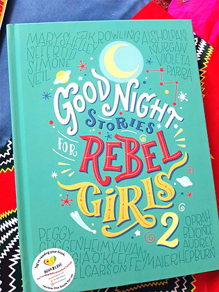 Goodnight Stories For Rebel Girls 2 ,  Elena Favilli & Francesca Cavallo