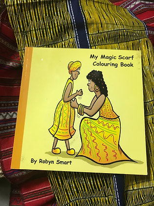 My Magic Scarf Colouring Book By Robyn Smart