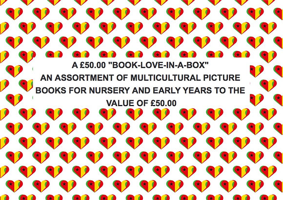 £50.00 BOOKLOVE-IN-A-BOX - Early Years (BABY - AGE 4)