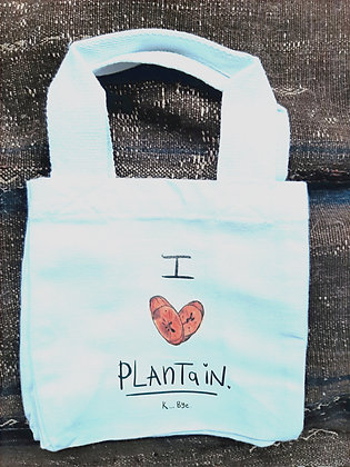 Lunch Bag, I love Plantain