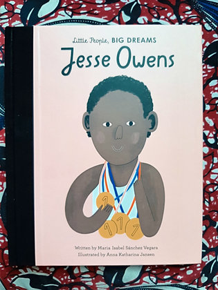 (Big) Jesse Owens, Little People Big Dreams, Maria Isabel Vegara & Anna Jansen