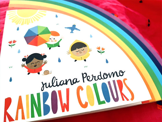 Rainbow Colours by Juliana Perdomo