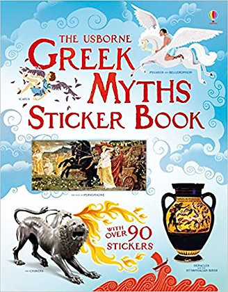 The Usborne Greek Myths Sticker Book