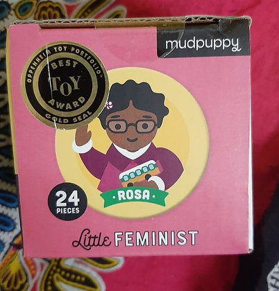 Little Feminist memory match game