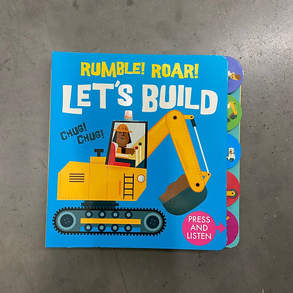 Rumble Roar! Let's Build! - Sound of the City (Boardbook) by Carles Ballesteros