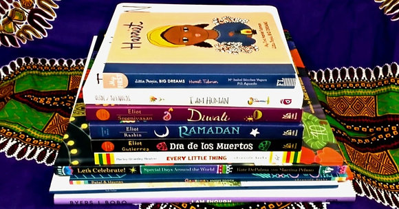 BOOKLOVE BUNDLE EARLY YEARS - AMAZING  MULTICULTURAL books X 10!