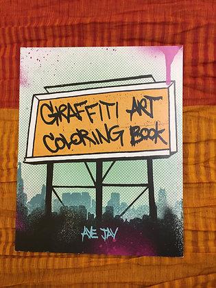 Graffiti Art Colouring Book