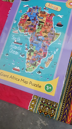 Giant Africa Map 32 Piece Puzzle AVAILABLE MID JANUARY