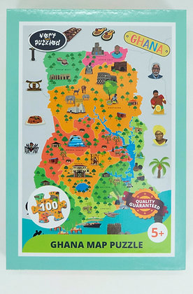 PUZZLE GIANT MAP GHANA