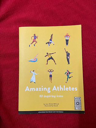 Amazing Athletes By Jean Michel Billioud