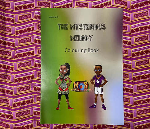 The Mysterious Melody - Colouring Book Volume 1