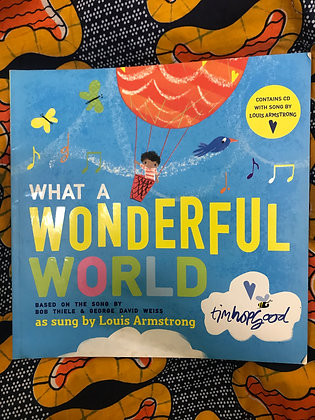 What a Wonderful World By George David Weiss (PRE-BOOK LOVED)