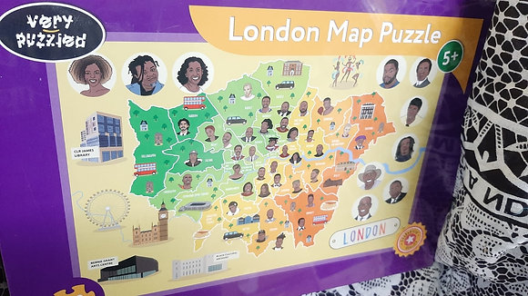 London map 100 piece puzzle