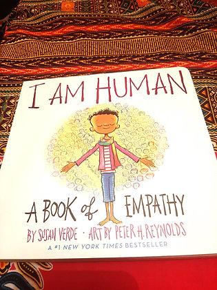I am  Human, by Susan Verde & Peter H Reynolds (BOARDBOOK)