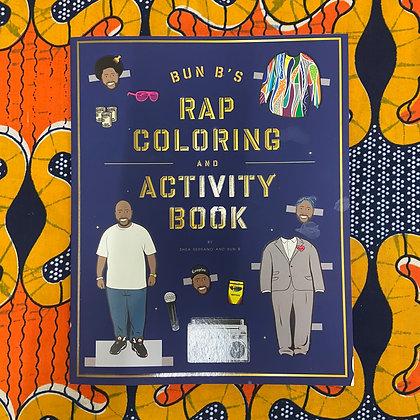 Bun B's Rap Coloring and Activity Book
