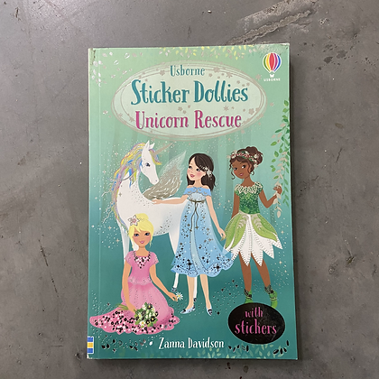Unicorn Rescue - Sticker Dolly Stories by Zanna Davidson