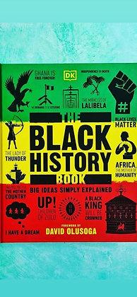 The Black History Book by David Olusoga HARDBACK