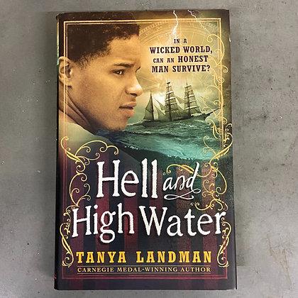 Hell and High Water (Hardback) by Tanya Landma (TEEN)